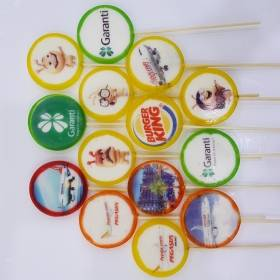12 pcs Emoji Lollipop