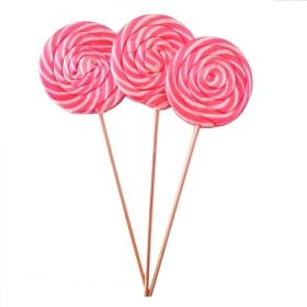 12 pcs Lollipop Candy Pink
