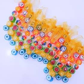 24 Adet  PARMAK LOLLY CANDY PL13