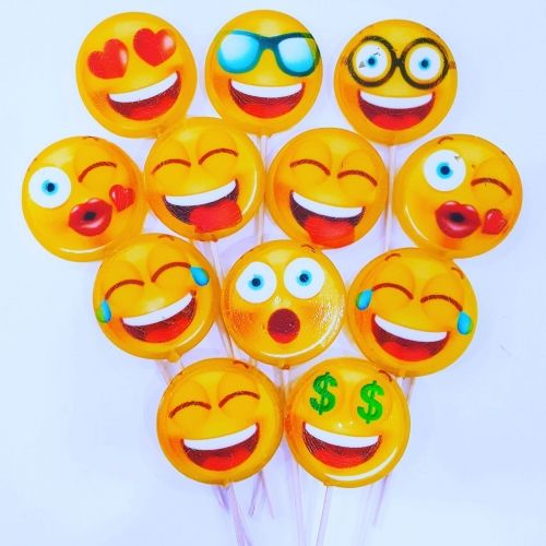emoji lollipop