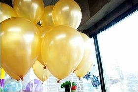 Gold Balon Metalik 25 Adet