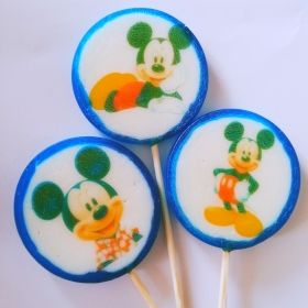 6 ADET Mickey Mouse Lolipop